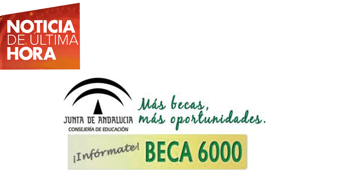 Beca 6000 en Andalucía