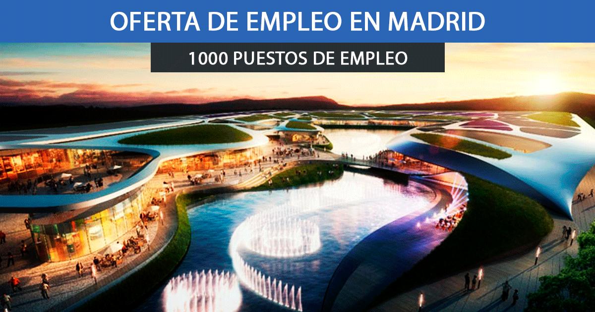 Centro Comercial Open Sky en Madrid