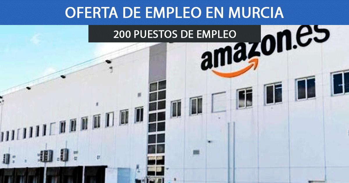 nuevo centro logístico de Amazon en Murcia