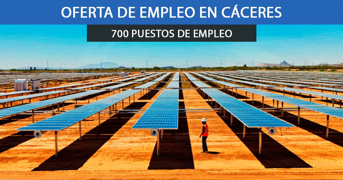 plantas fotovoltaicas en Cáceres