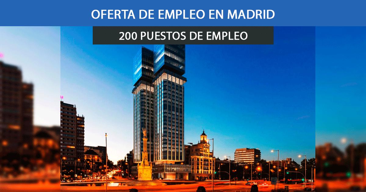 200 Operarios de la Construcción en Madrid
