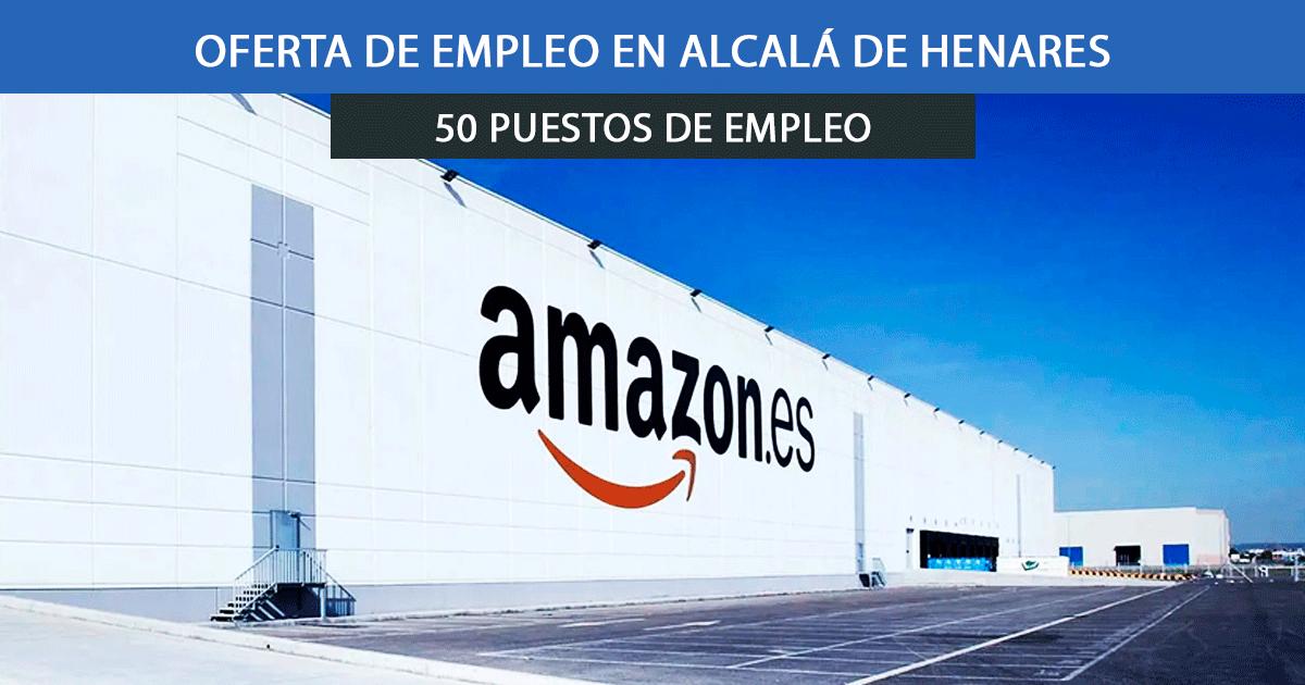 Se necesitan 50 Mozosas de almacén en Alcalá Henares para trabajar en Amazon