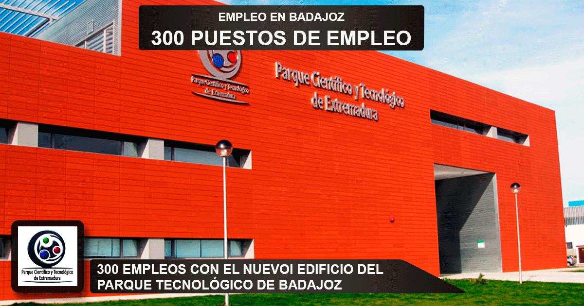 edificio del Parque Tecnológico en Badajoz