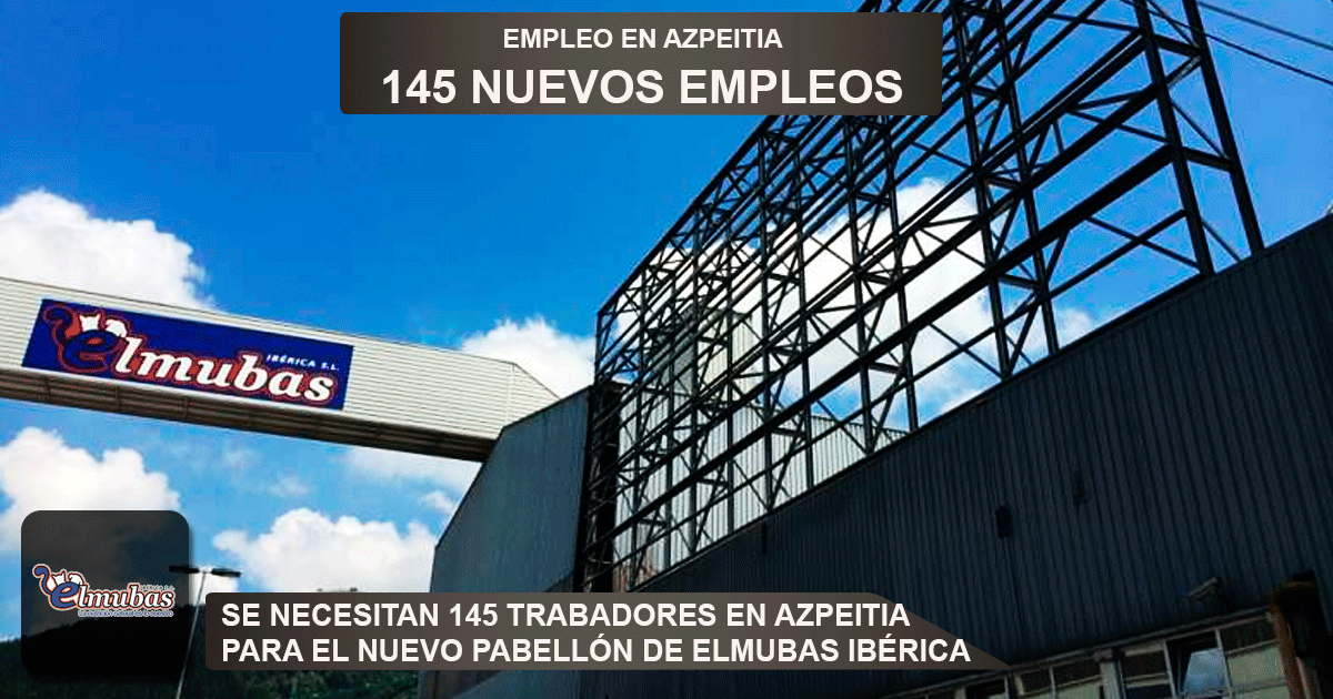 nuevo pabellón de Elmubas Ibérica