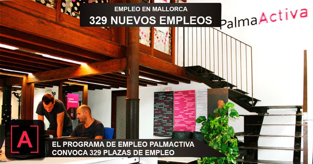programa de empleo de PalmaActiva