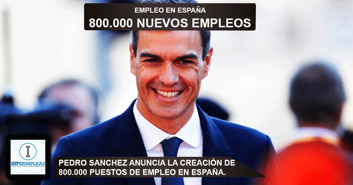 800.000 puestos de trabajo