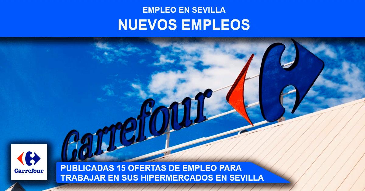 trabajar en Carrefour en Sevilla