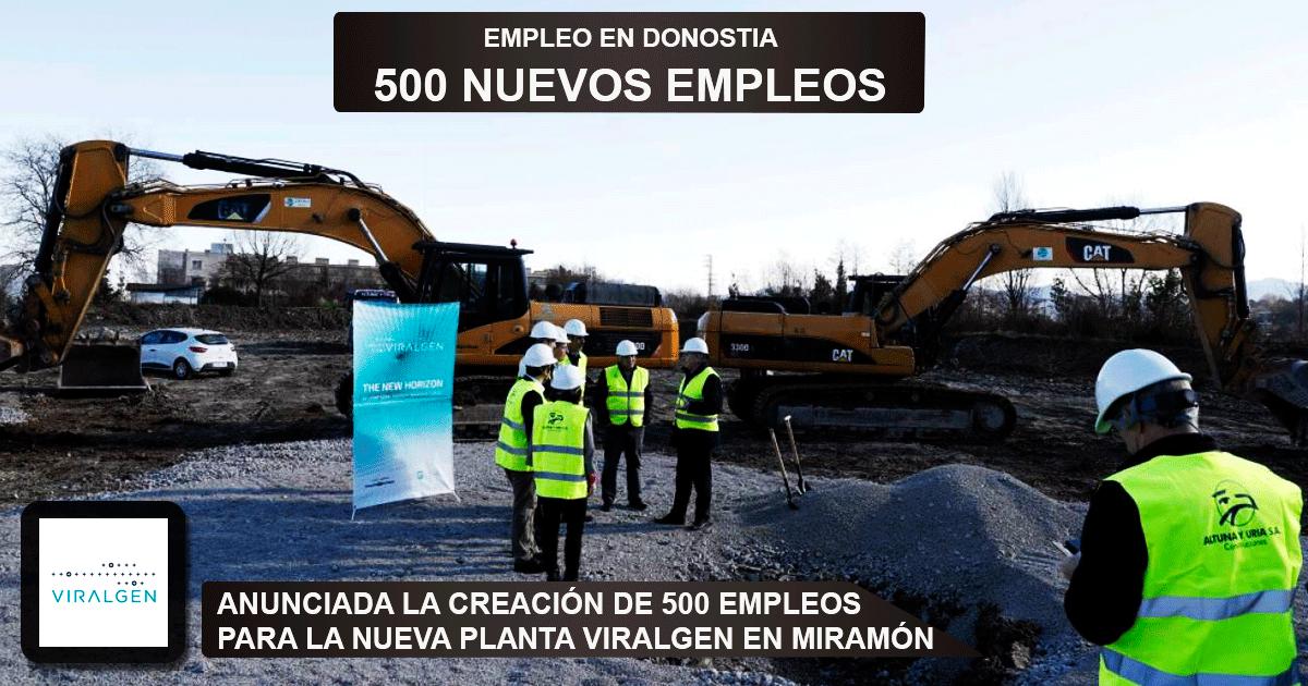 la nueva planta Viralgen en Miramón