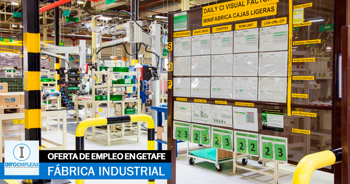 Fábrica Industrial de Producción en Getafe