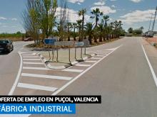 Se necesita personal para Fábrica de Puzol - Valencia