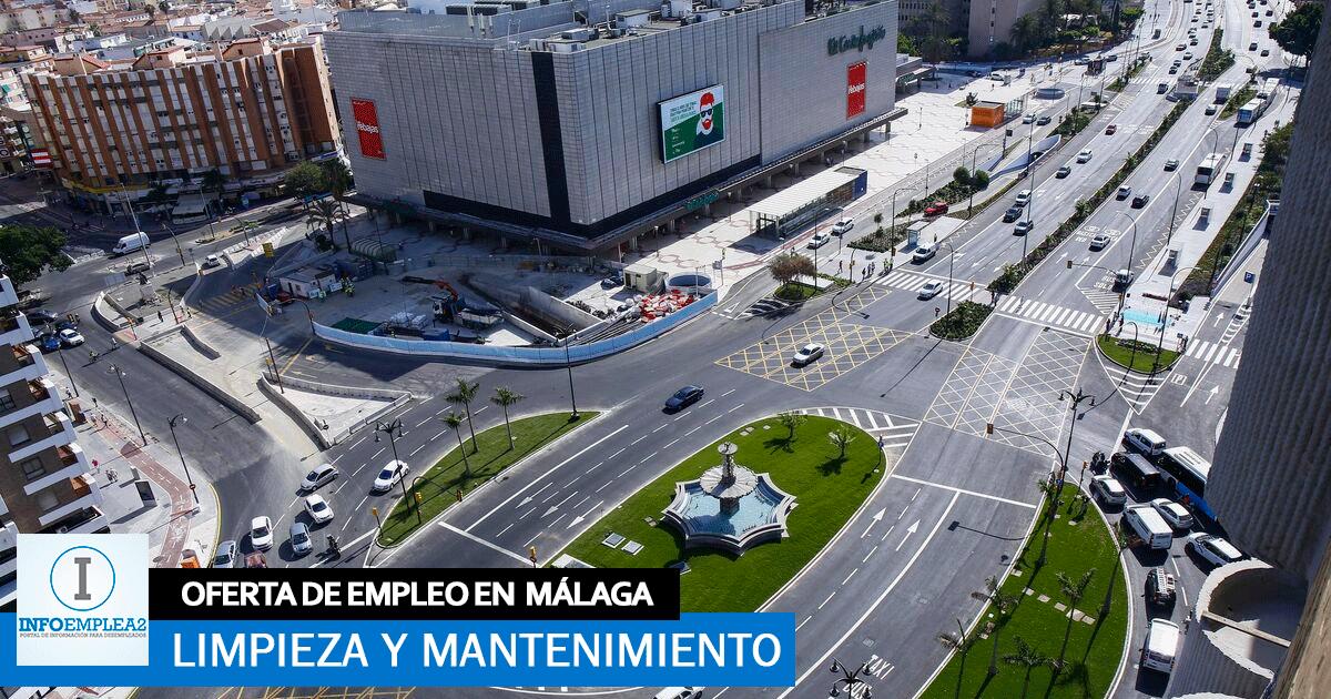 Se necesita Personal de Limpieza y Mantenimiento en Málaga