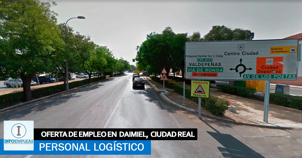 Se necesita Personal para Centro Logístico en Daimiel, Ciudad Real