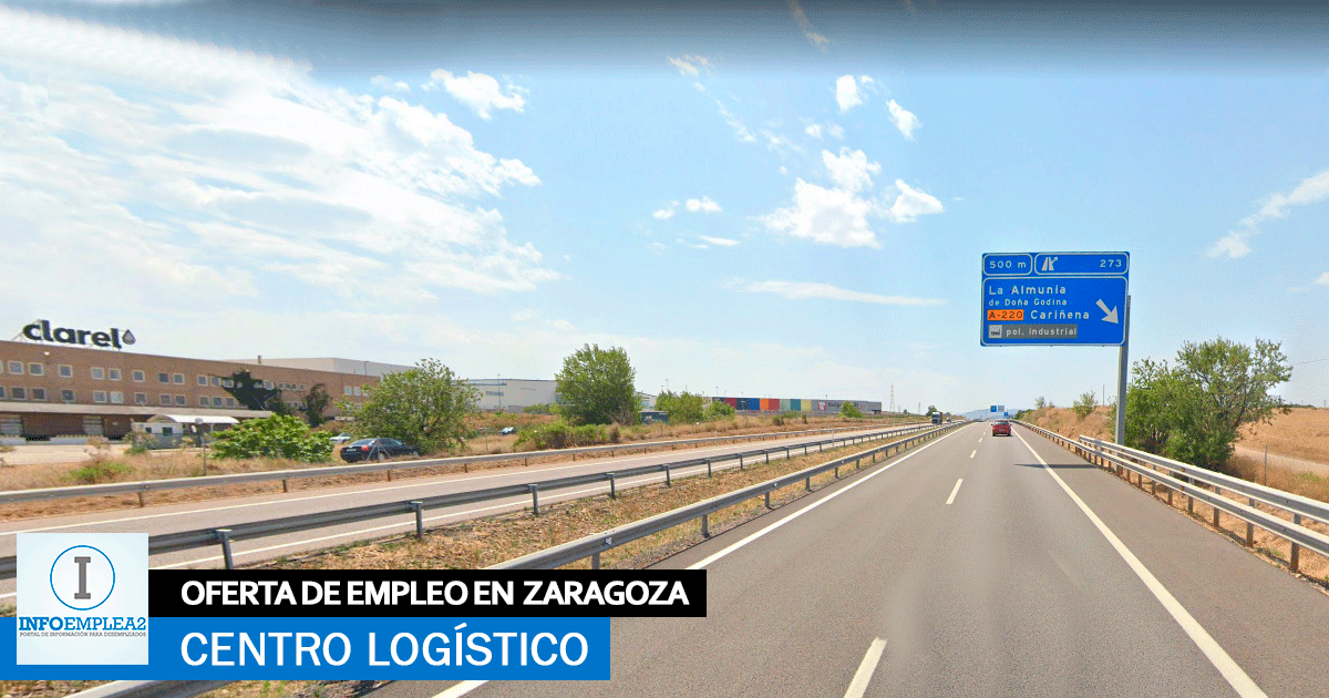 Se necesita Personal para Centro Logístico en La Almunia De Doña Godina, Zaragoza