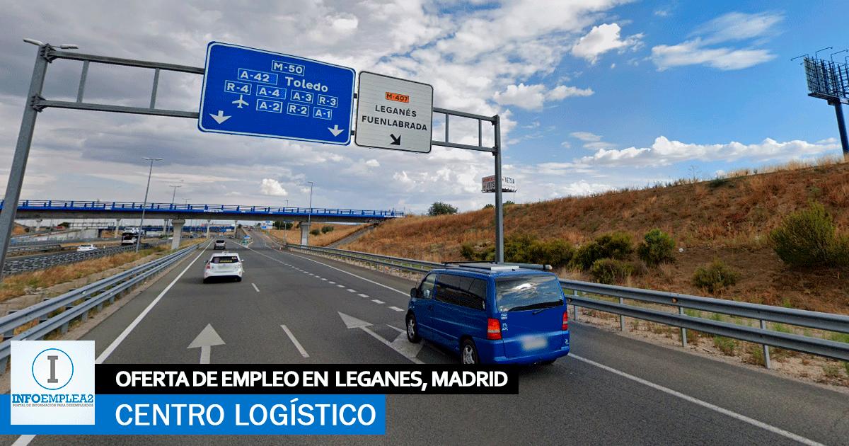 Se necesita Personal para Centro Logístico en Leganés