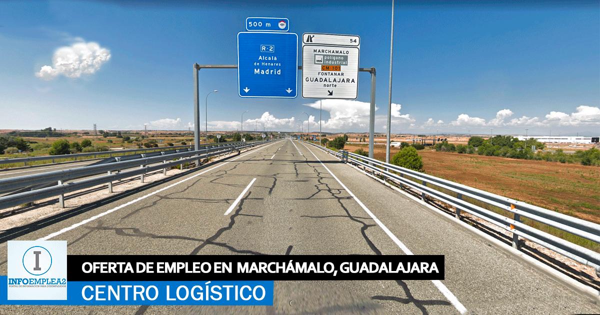 Se necesita Personal para Centro Logístico en Marchámalo, Guadalajara