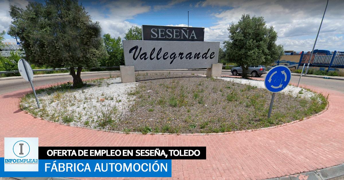 Se necesita Personal para Fábrica Automoción en Seseña Nuevo, Toledo