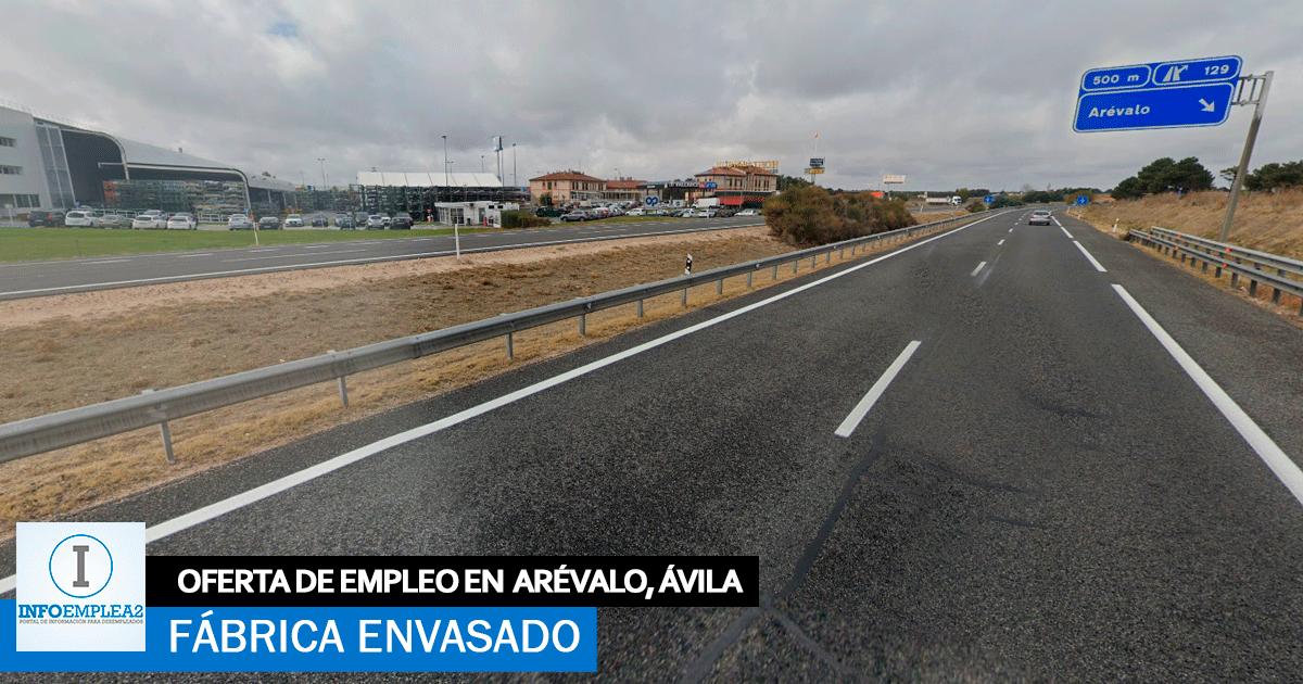 Se necesita Personal para Fábrica de Envasado en Ávila