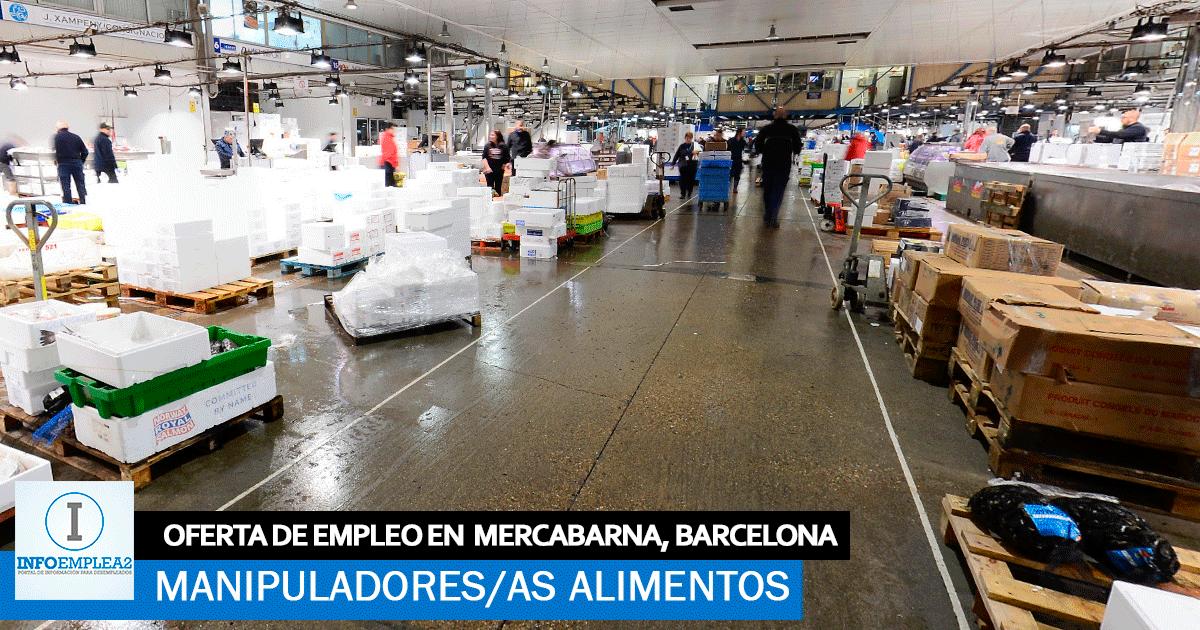 Se necesita Personal para Mercabarna, Barcelona