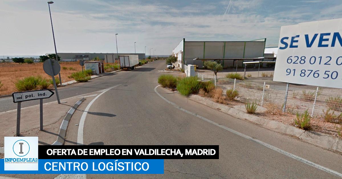 Se necesita Personal para Plataforma Logística en Valdilecha, Madrid