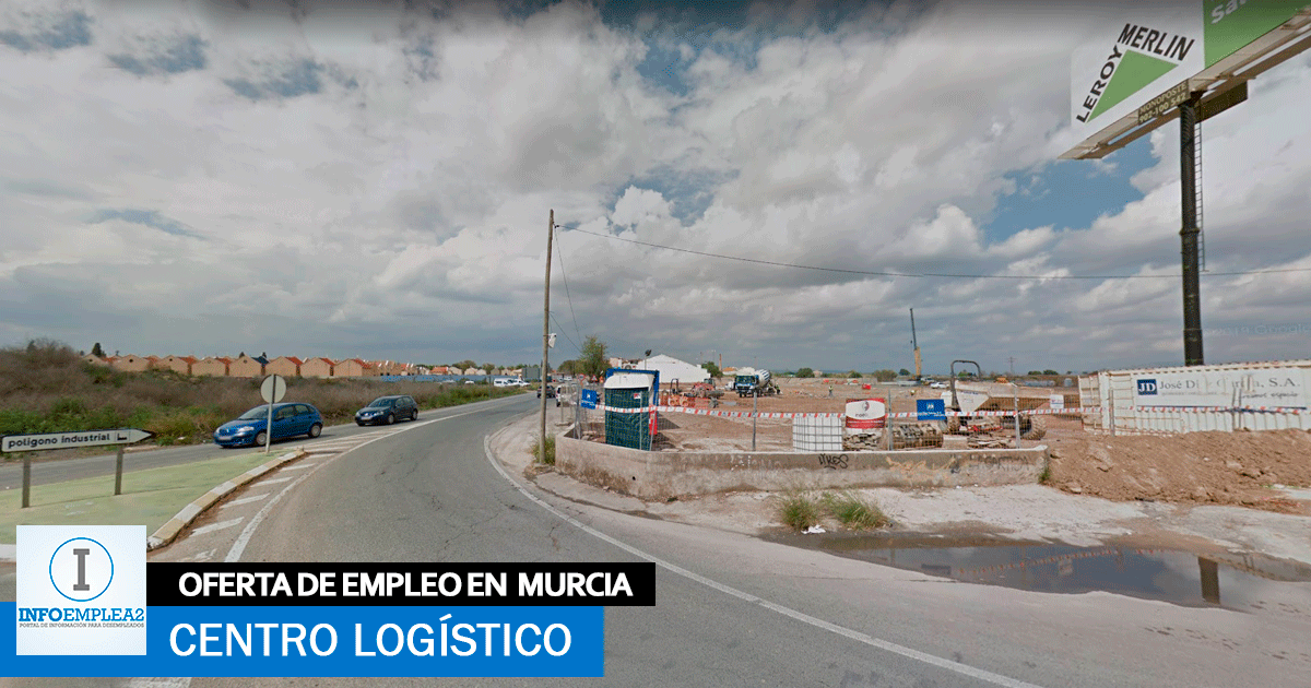 Se necesita Personal para centro Logístico en Murcia