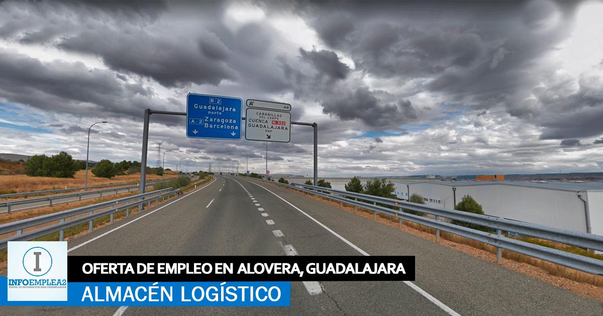 Se necesita personal para Almacén Logístico en Alovera, Guadalajara