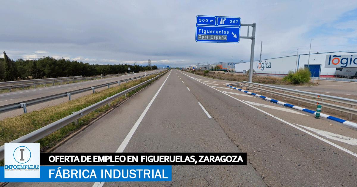 Se necesitan Personal para fábrica en Figueruelas, Zaragoza
