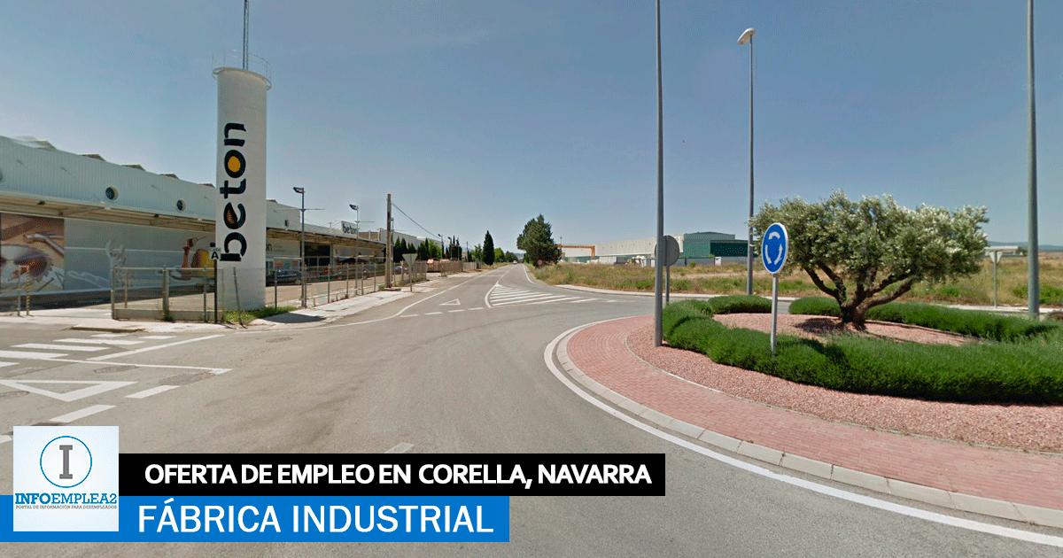 Se necesita Operarios/as para Fábrica en Corella, Navarra
