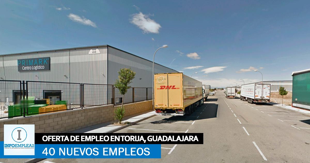 Nuevo Centro Logístico en Torija, Guadalajara, Precisa Incorporar 40 empleados