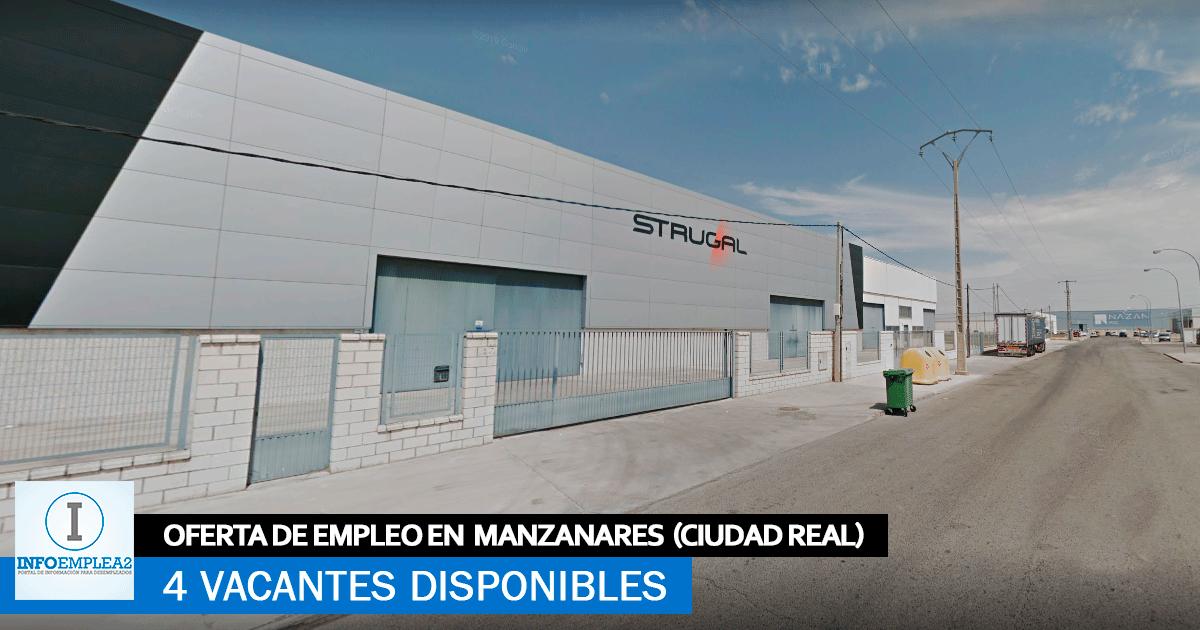 Se Necesita Personal en Manzanares (Ciudad-Real) para la Fábrica de Strugal
