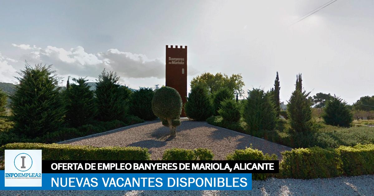 Se necesita Operari@s para Fábrica Industrial en Banyeres de Mariola, Alicante