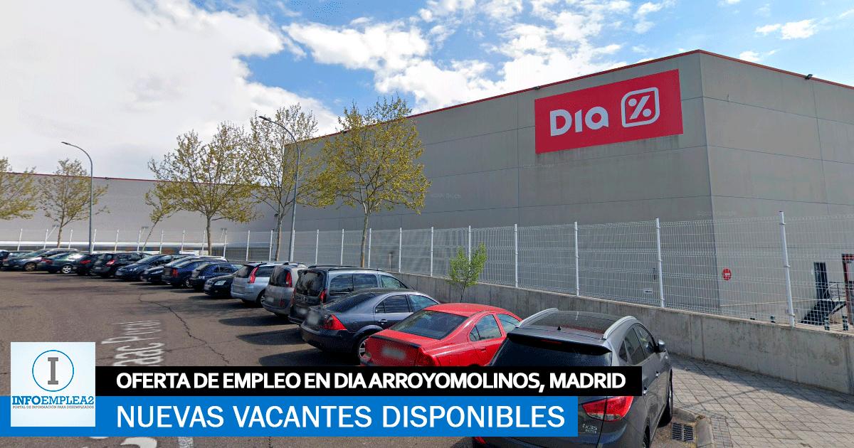 Se necesita Personal para Centro Logístico Día en Arroyomolinos, Madrid