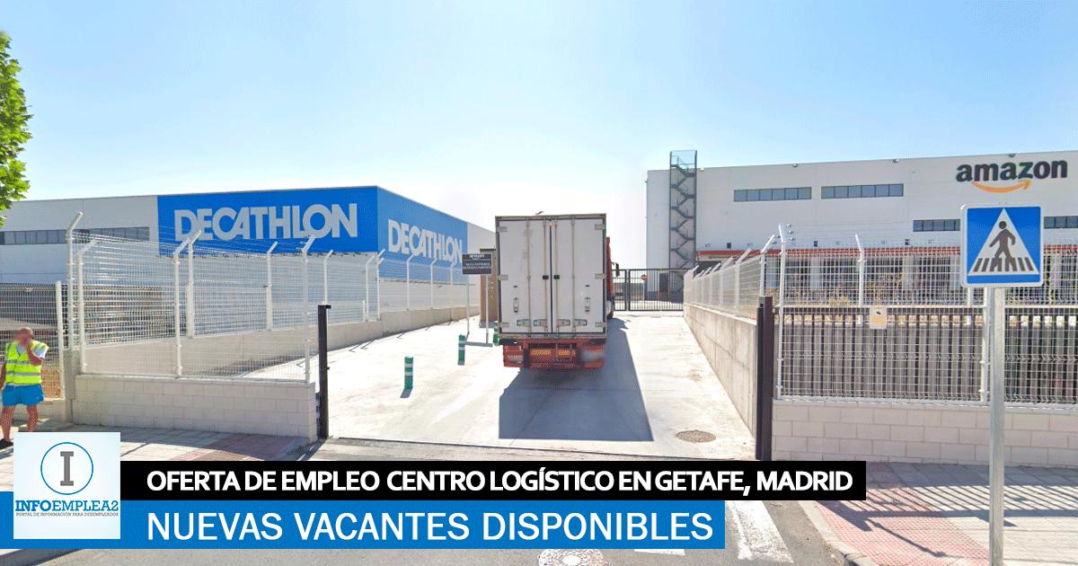 Se necesita Personal para Centro Logístico en Getafe, Madrid