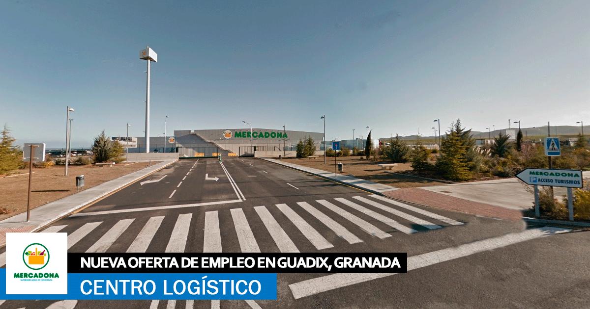 Se necesita Personal para Centro logístico Mercadona en Guadix, Granada