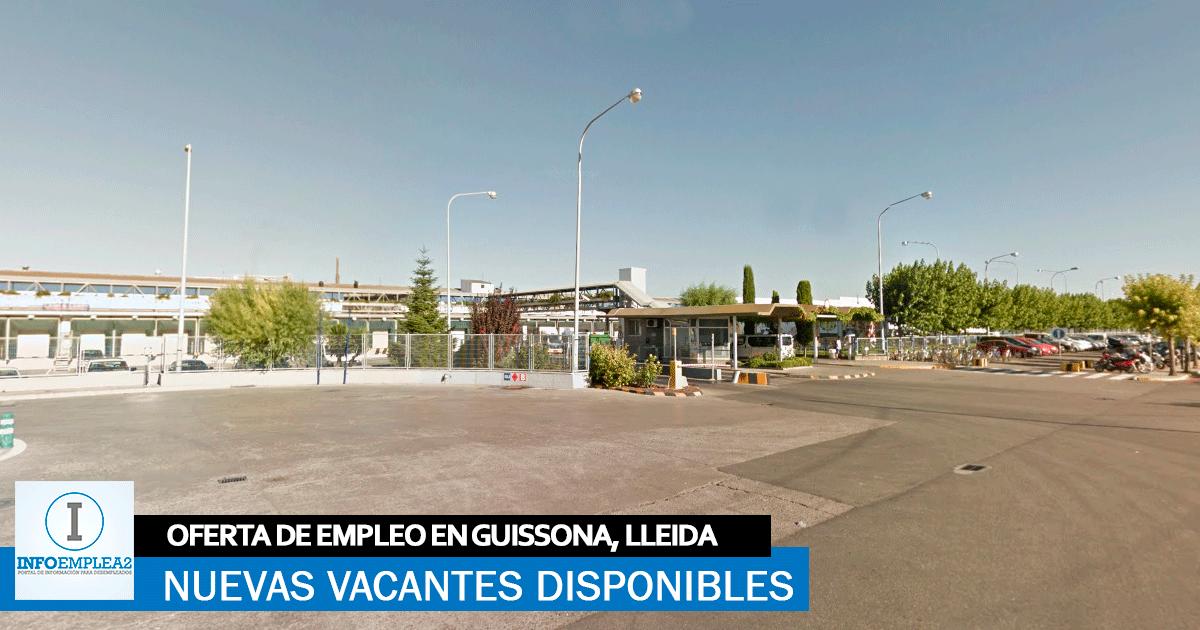 Se necesita Personal para Envasadora en Guissona, Lleida