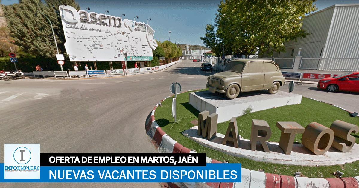 Se necesita Personal para Fábrica Automoción en Martos, Jaén