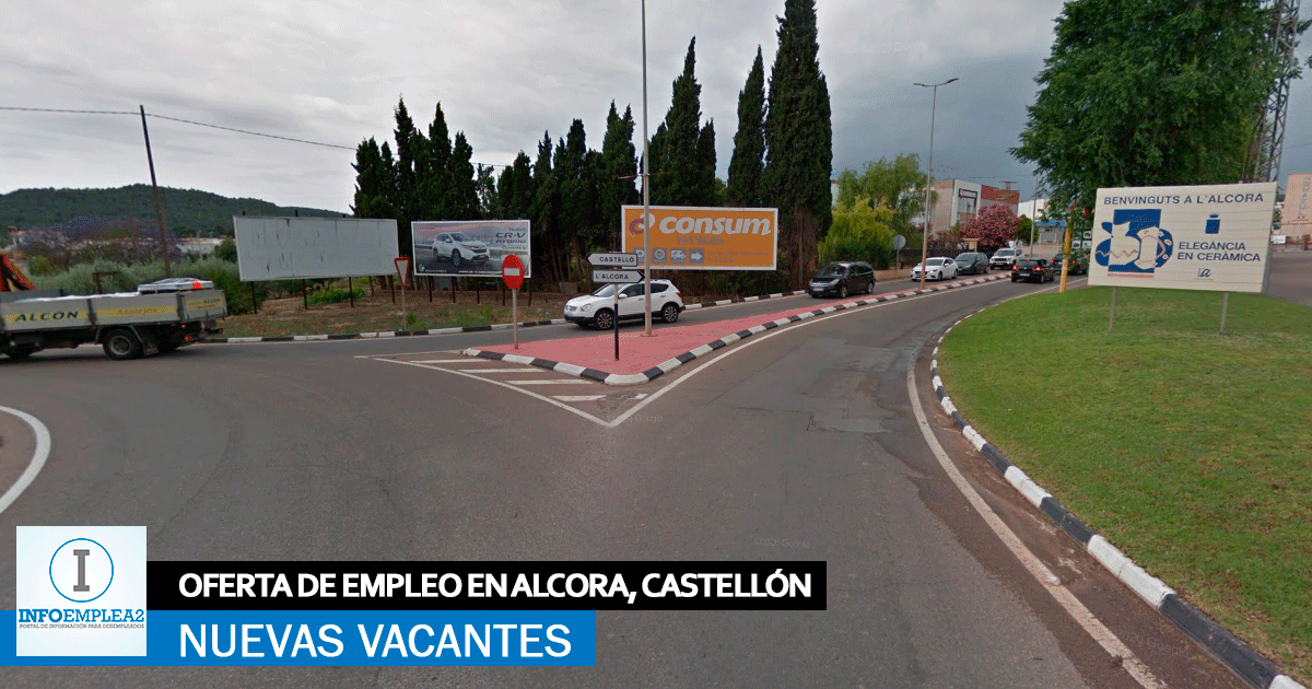 Se necesita Personal para Fábrica Industrial en Alcora, Castellón
