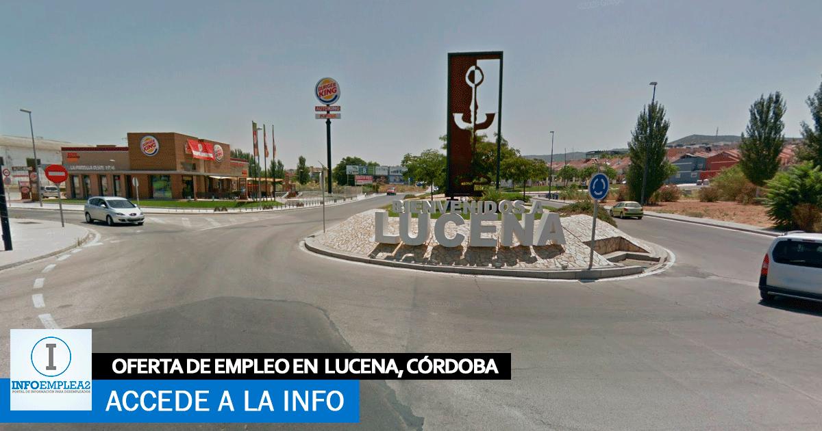 Se necesita Personal para Fábrica en Lucena, Córdoba