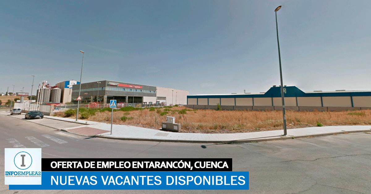 Se necesita Personal para Fábrica en Tarancón, Cuenca