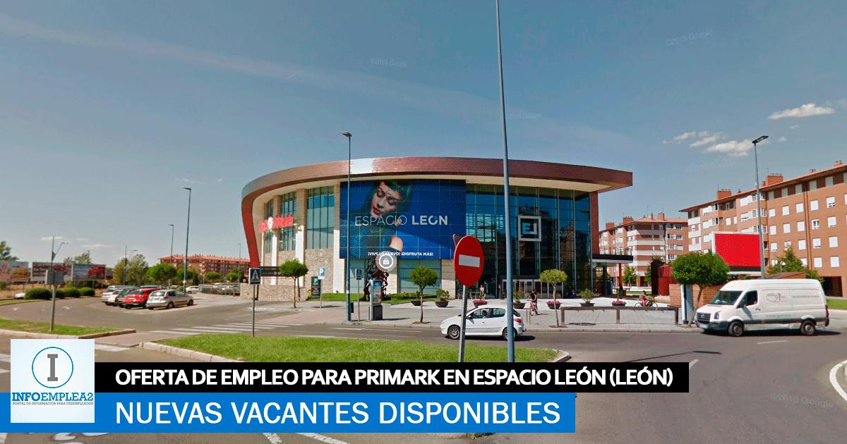 Se necesita Personal para Primark en León