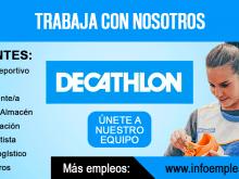 Personal para trabajar en Decathlon
