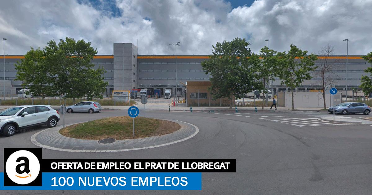 Se necesitan 100 Operari@s para Centro Logístico de Amazon en El Prat de Llobregat