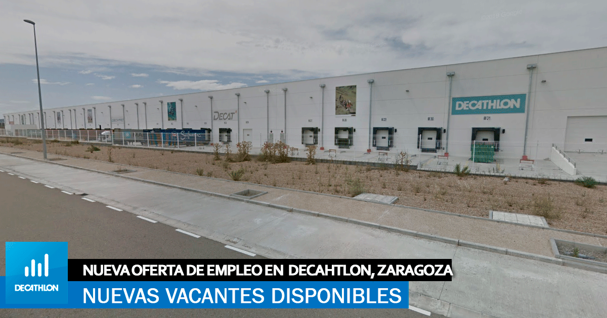 Se necesitan Operari@s para Centro Logístico Decathlon en Zaragoza