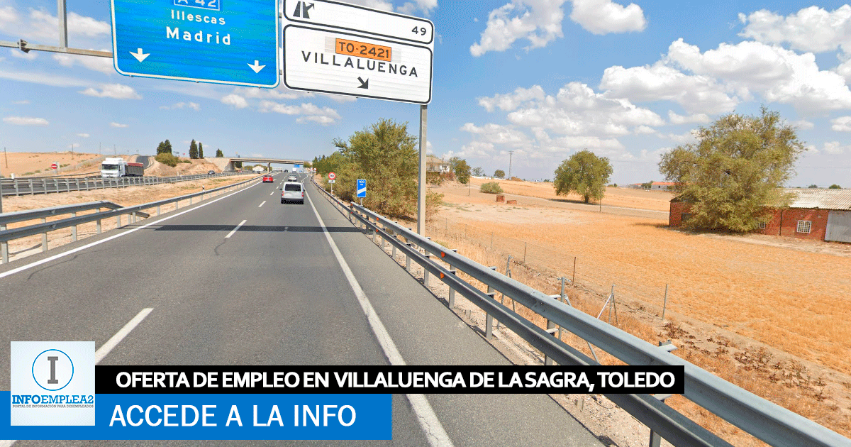 Se necesitan Operarios/as Producción en Villaluenga de la Sagra, Toledo