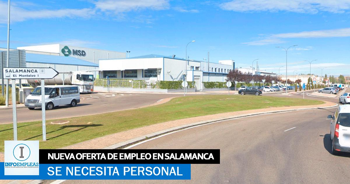 Se necesitan Operariosas de Producción para Fábrica en Salamanca