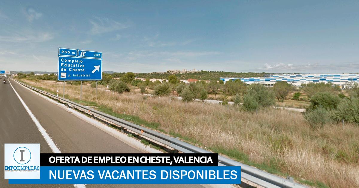 Se necesitan Operarios/as para Fábrica en Cheste, Valencia