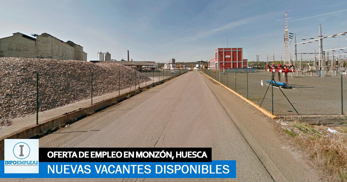 Se necesitan Personal para Empresa en Mozón, Huesca
