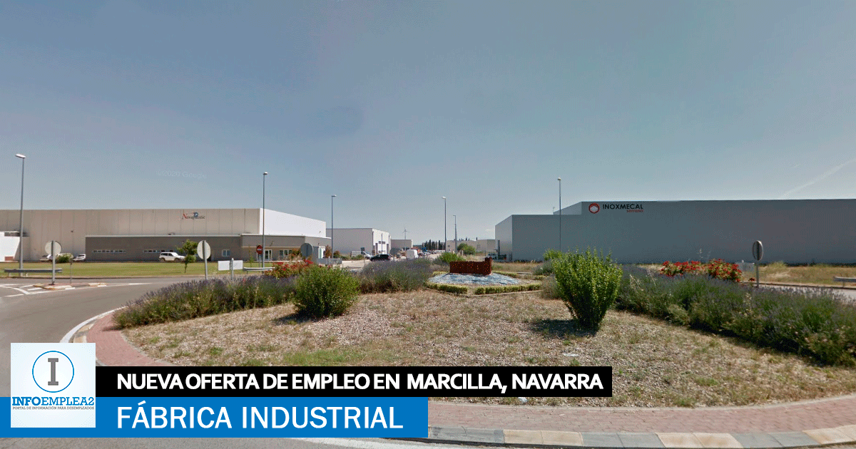 Se necesitan Personal para Fábrica Industrial en Marcilla, Navarra