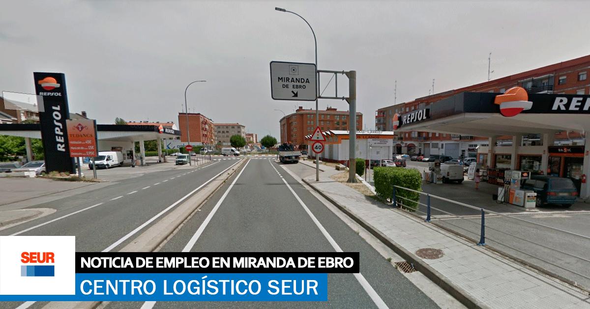 Se necesitarán 200 Trabajadores en el Nuevo Centro Logístico Seur en Miranda de Ebro