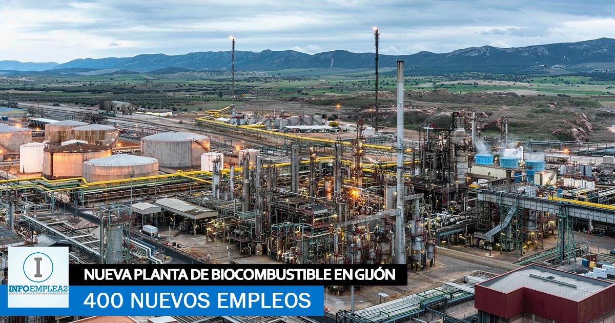 Nueva Planta de Biocombustible en Gijón creará 400 Nuevos Empleos