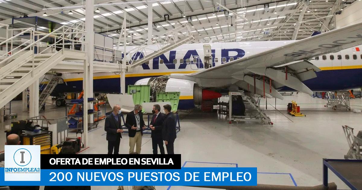 Ryanair Creará 200 Empleos en Sevilla para su Nuevo Centro
